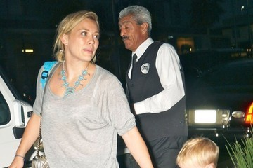 Luca Comrie Hilary Duff Takes Luca Out for Dinner