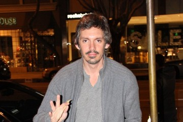 Lukas Haas Celebrities Enjoy Dinner At Madeo Restaurant