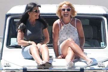 Lynne Spears Britney Spears Watches Her Son Play Soccer