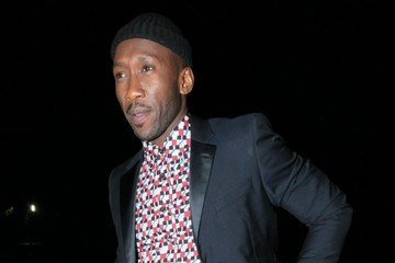 Mahershala Ali Celebs Dine Out At Craig's In West Hollywood