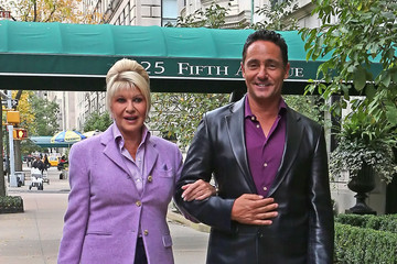 Marcantonio Rota Ivana Trump And Marcantonio Rota Out For A Stroll In New York