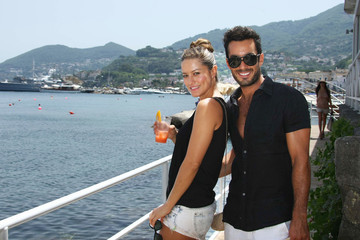 Lola Ponce Aaron Diaz Maria Bello Spotted Out During Ischia Global Fest 2012