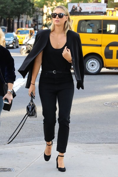 Maria Sharapova Is Seen Out and About in NYC
