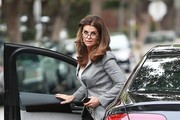 Maria Shriver Heads to a Meeting in Beverly Hills