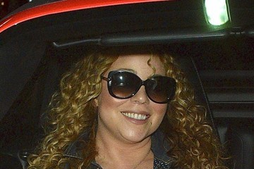 Mariah Carey Mariah Carey Dines Out at Mastro's Steakhouse