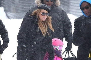 Mariah Carey Mariah Carey Hits The Slopes With Her Kids In Aspen