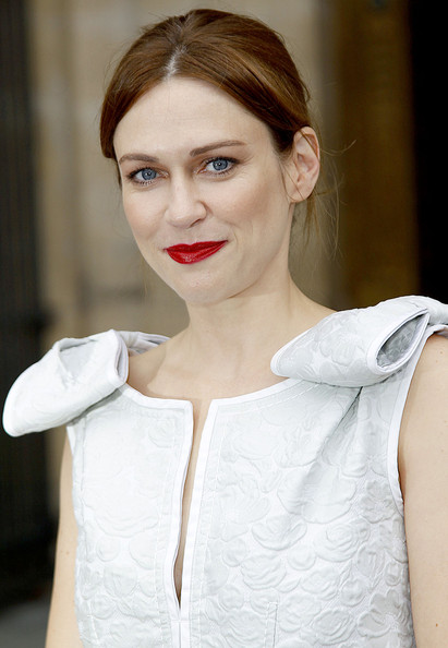 Marie-Josee Croze Celebrities arrive at the Louis Vuitton fashion show during Paris Fashion Week Spring/Summer 2011.