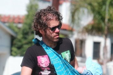 Mario Lavandeira III Perez Hilton Runs Errands with His Son