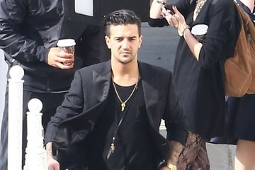 Mark Ballas Celebs at the 'Dancing With the Stars' Studio