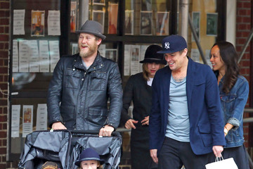 Fynn Hawkey Mark McGrath And Fiance Out With Vera Farmiga And Her Family In New York