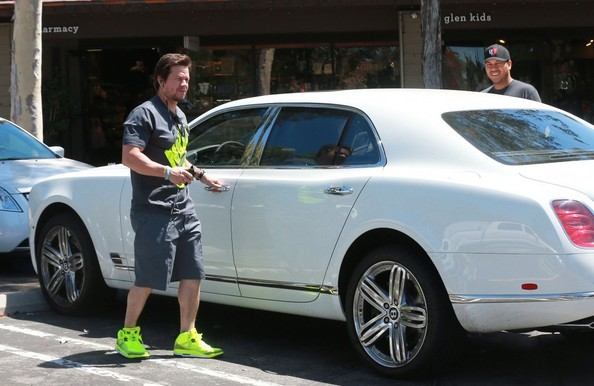 Mark Wahlberg Shows Off His New Ride