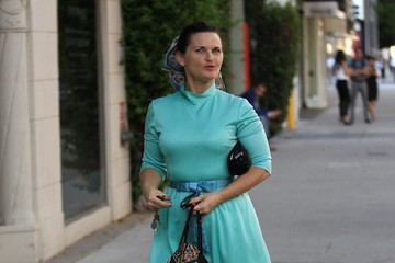 Mary Birdsong Mary Birdsong Steps Out in Beverly Hills