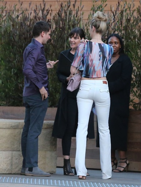 Celebrities Dine Out at SoHo House