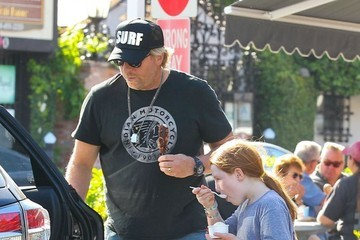Matthew Carnahan Helen Hunt Takes the Family Out for Ice Cream