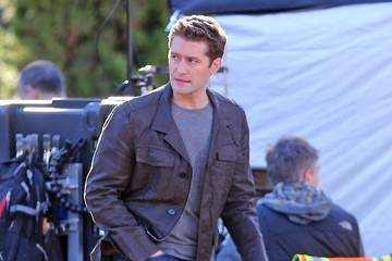 Matthew Morrison 'Glee' Films in LA