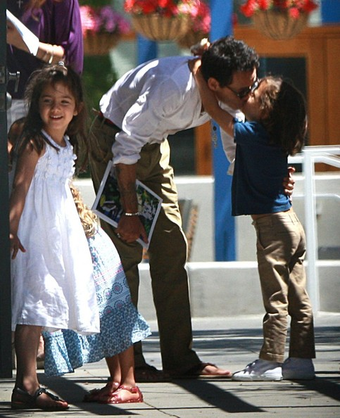 Max anthony and emme anthony photos photos jennifer lopez and marc jennifer lopez and marc anthony meet in la m4hsunfo