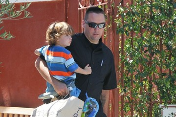 Max Sheen Denise Richards Spends the Day with Her Kids