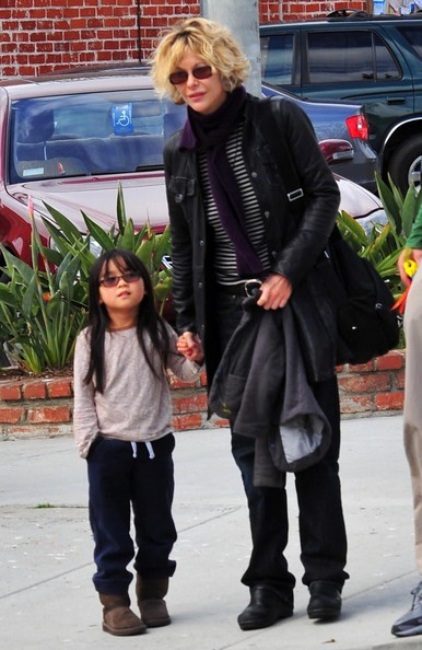 Meg Ryan And Daughter Daisy Out In Santa Monica []