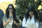 Megan Fox is spotted leaving the movies with her mom in Westlake Village, California on November 5, 2016.
