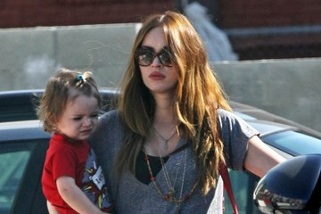 Megan Fox Megan Fox Runs Errands With Noah