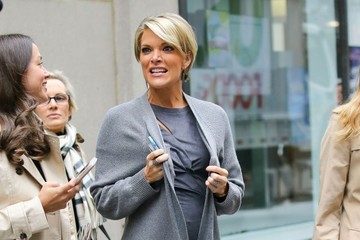 Megyn Kelly Celebrities Visit 'Access Hollywood' in NYC