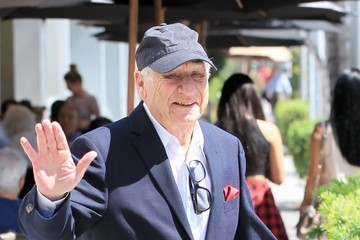 Mel Brooks Mel Brooks Has Lunch With Friends In Beverly Hills