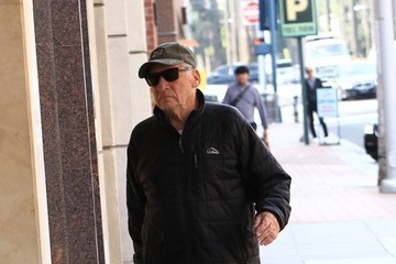 Mel Brooks Mel Brooks Heads to the Doctor's Office in Beverly Hills