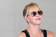 Melanie Griffith Gets Her Workout In