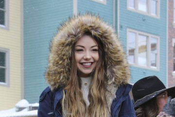 Meredith Foster Celebrities Are Seen Out and About at the 2017 Sundance Film Festival