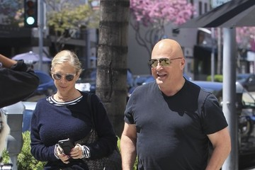 Michael Chiklis Michael Chiklis Takes His Wife to Lunch in Beverly Hills