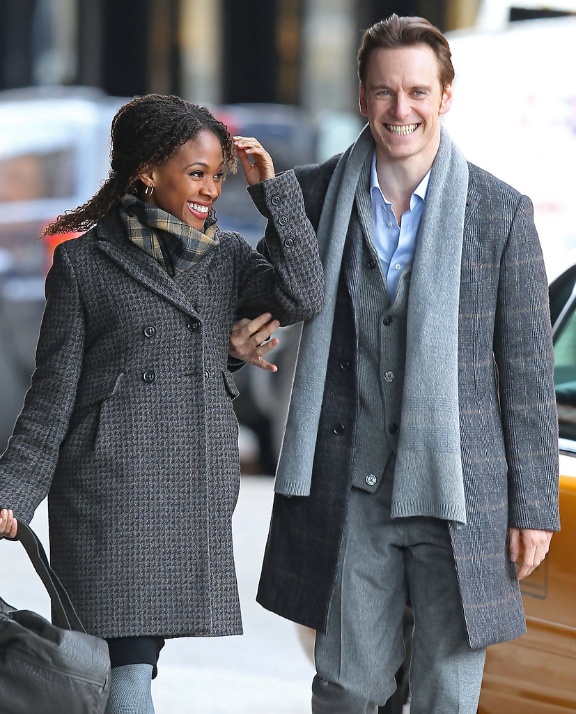 Image result for michael-fassbender Nicole Beharie