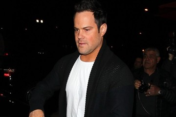 Mike Comrie Celebrities Dine Out at Craig's Restaurant
