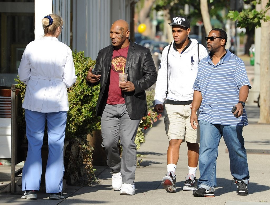 Mike Tyson Photos Photos Mike Tyson Out And About In
