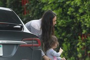 Mila Kunis Out In Studio City With Her Daughter