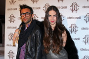 Celebrities attend the Just Cavalli event during the Milan Fashion Week.