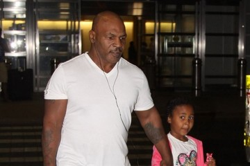 Milan Tyson Mike Tyson and Family Arriving in Washington DC