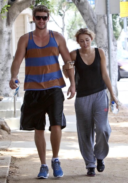 liam hemsworth and miley cyrus. Liam Hemsworth and Miley Cyrus
