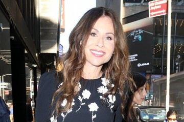Minnie Driver Celebrites Appear on 'Good Morning America' in NYC