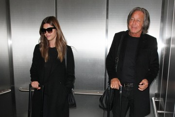 Mohamed Hadid Mohamed Hadid & Shiva Safai Depart From LAX