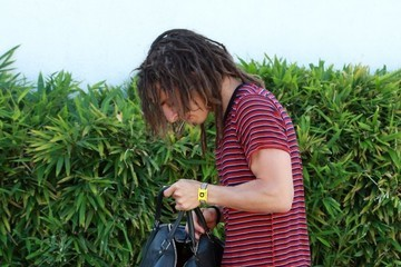 Moises Arias Moises Arias Spotted In Woodland Hills