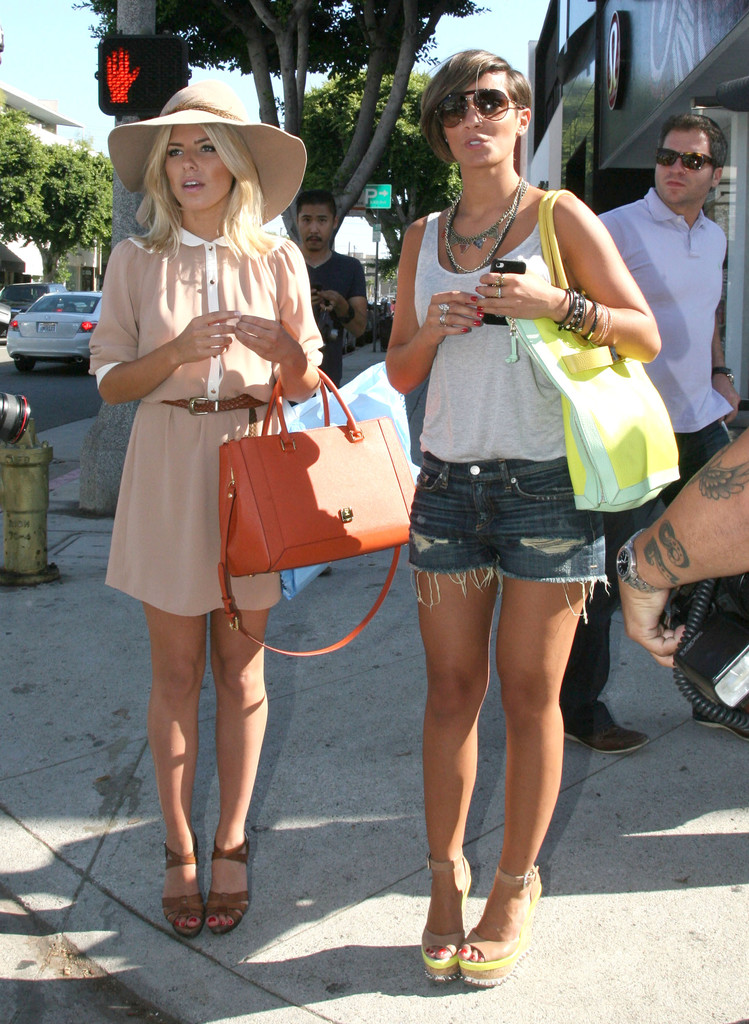 Mollie+King in Mollie King And Frankie Sandford Out Shopping In Beverly Hills