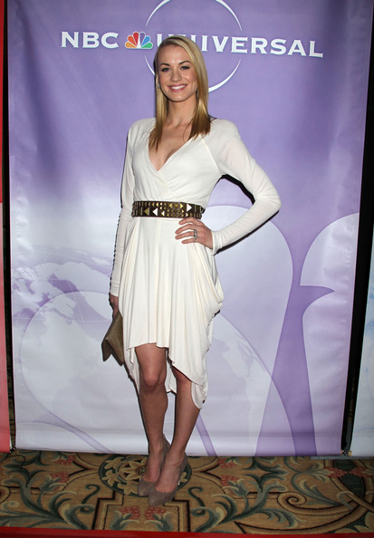Yvonne+Strahovski in NBC Universal's Press Tour Cocktail Party - Arrivals