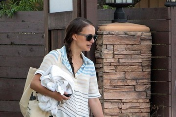 Natalie Portman Aleph Portman-Millepied Natalie Portman and Her Son Head Out for the Day