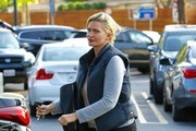 Actress Natasha Henstridge is spotted shopping at a Ralphs in Los Angeles, California on May 16, 2016.
