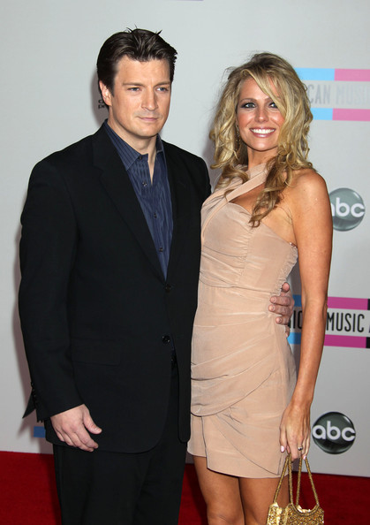 Kate Luyben with ex-boyfriend Nathan Fillion