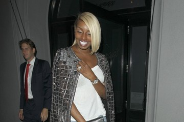 NeNe Leakes Celebrities Dine Out at Craig's Restaurant