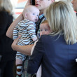 Harper Burtka Harris Neil Patrick Harris And Family Arriving For A Flight At LAX