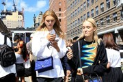 Celebrities are spotted out and about during New York Fashion Week: The Shows on September 13, 2016 in New York City.