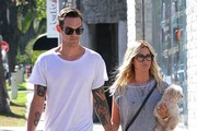 Newly Weds Ashley Tisdale & Christopher French Spend The Day Shopping