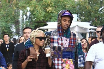 Nick Young Paloma Ford Nick Young and Paloma Ford Shop at The Grove